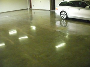 polished concrete Orange County