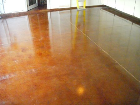 Orange County Polished Concrete